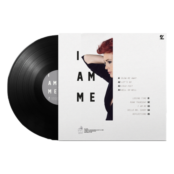 "Handsigniert: Vinyl-Album Sharron Levy ""I am me"""