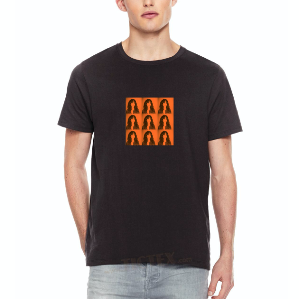 """NENA Portrait"" Shirt, Motiv rot"