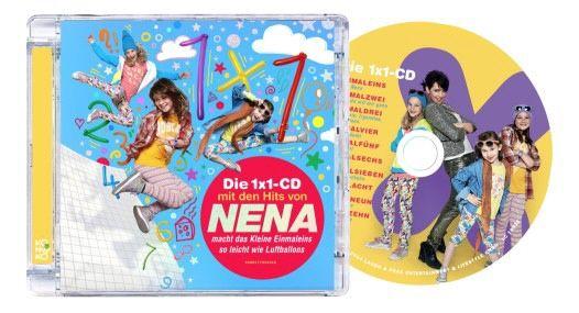 """Kinder CD """"Das 1x1 Album mit den Hits von NENA"""""""