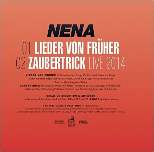 """CD-Single """"Lieder von Früher"""""""