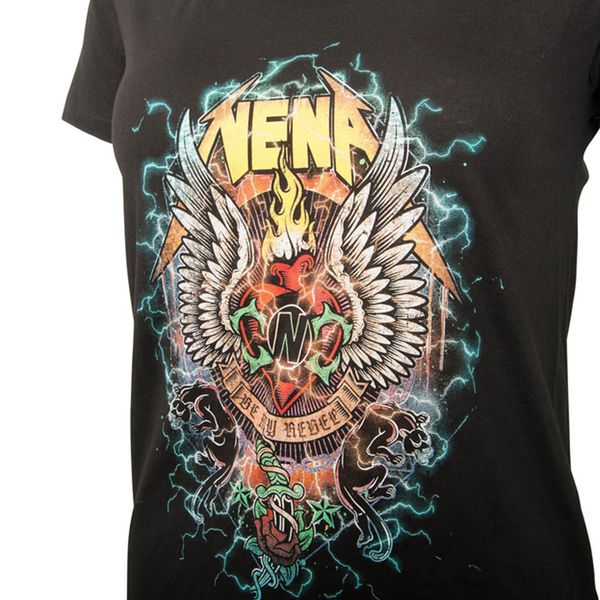 NENA Frauen T-Shirt BE MY REBEL