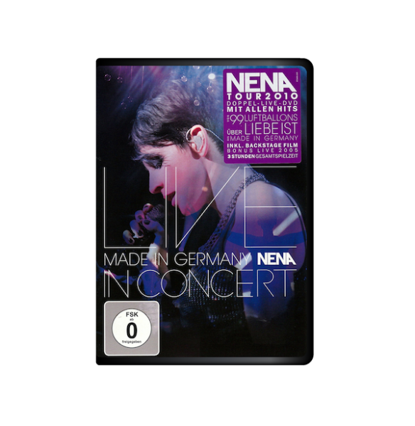 NENA - MADE IN GERMANY: LIVE IN CONCERT (2 DVDs)