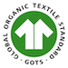 100% organic cotton (GOTS)