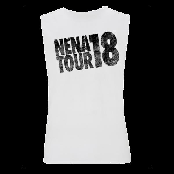 "Tour 2018: ""Fragezeichen"" Shirt, ärmellos"