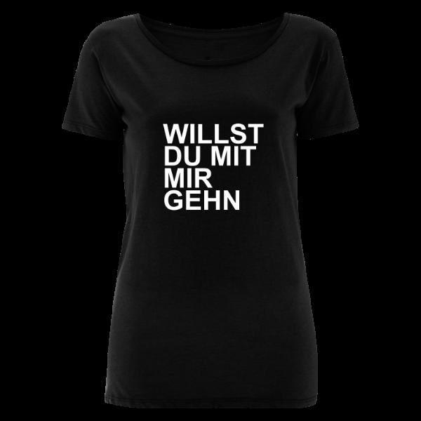 NENA Frauen Shirt WILLST DU MIT MIR GEHN