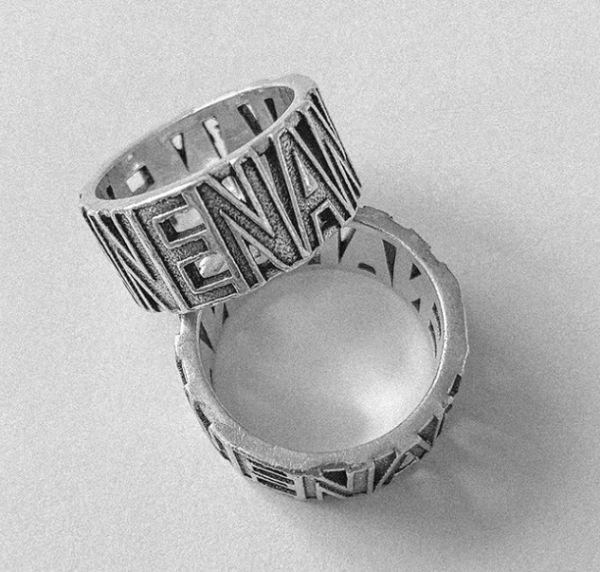 NENA Ring (925 Sterling Silber)